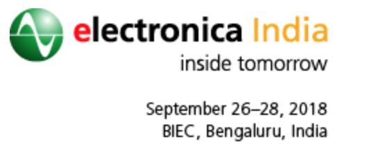 2018年慕尼黑(印度)电子元器件及生产设备展览会