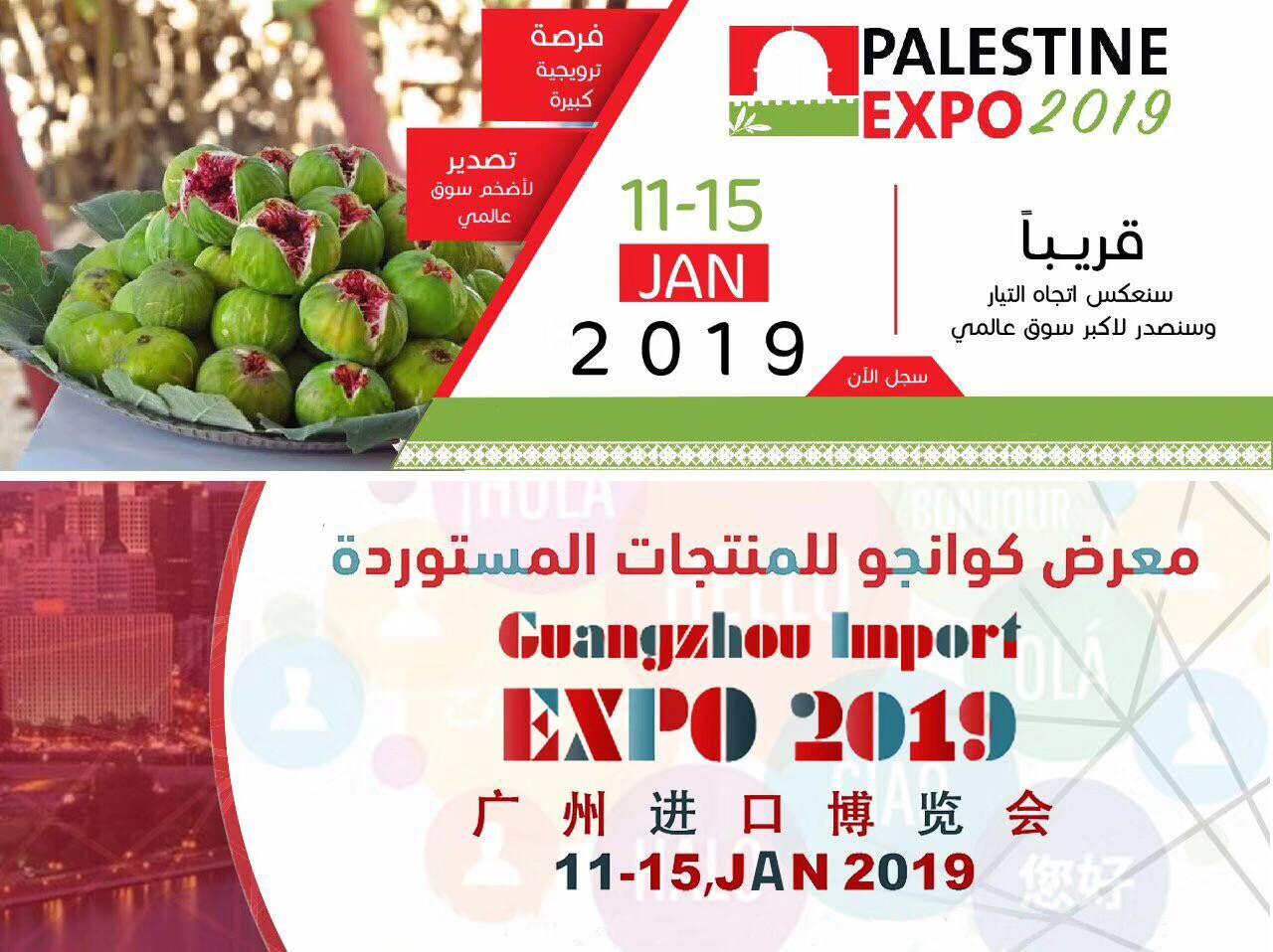 2019广州进口博览会暨2019巴勒斯坦博览会